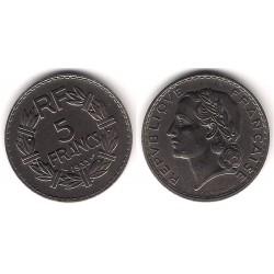 (888) Francia. 1933. 5 Francs (EBC)