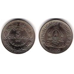 (72.2) Honduras. 1980. 5 Centavos (SC)