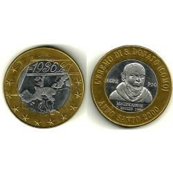 Italia. 2000. 1 Euro (EBC) Prueba