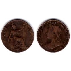 (789) Gran Bretaña. 1901. Half Penny (BC)