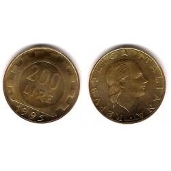 (105) Italia. 1995. 200 Lira (SC)