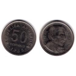 (49) Argentina. 1955. 50 Centavos (MBC)