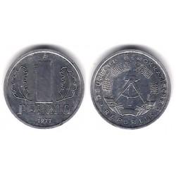 (8.2) Alemania Democrática. 1977(A). 1 Pfennig (MBC)