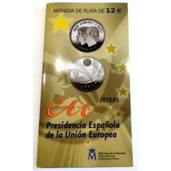España. 2010. 12 Euro (SC) Cartera FNMT