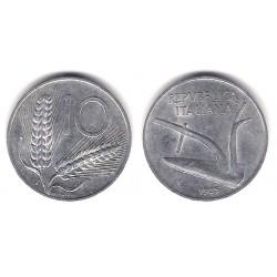 (93) Italia. 1955(R). 10 Lira (BC)