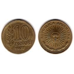 (72) Argentina. 1977. 10 Pesos (MBC)
