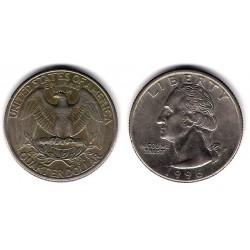 (A164a) Estados Unidos de América. 1996(P). Quarter Dollar (MBC)