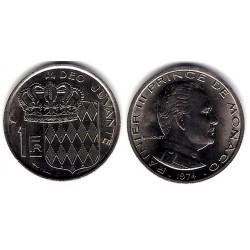(140) Mónaco. 1974. 1 Franc (EBC+)