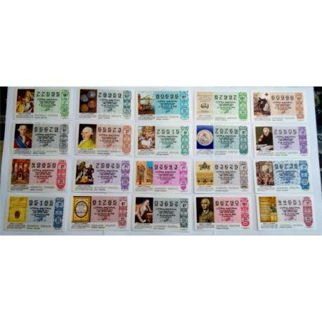 Loteria Nacional. 1988. Año Completo (51 Décimos)