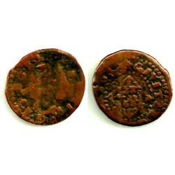 Luis XIII (Principado Catalán). Sin Fecha. Seiseno (RC) Ceca de Gerona