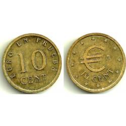 España. 1998. 10 Céntimos (SC) Prueba