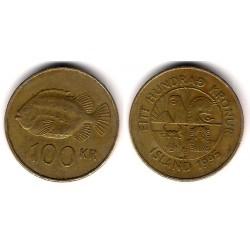 (35) Islandia. 1995. 100 Kronur (BC)