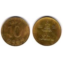 (33.2) Corea del Sur. 1999. 10 Won (EBC)