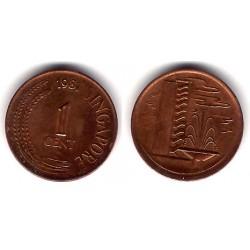 (1a) Singapur. 1981. 1 Cent (MBC)