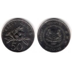 (102) Singapur. 2007. 50 Cents (EBC-)