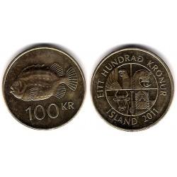 (35) Islandia. 2011. 100 Kronur (MBC)