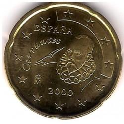 España. 2000. 20 Céntimos (SC)