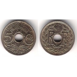 (875) Francia. 1939. 5 Centimes (EBC)