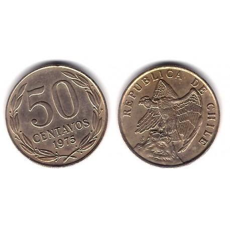 (206) Chile. 1975. 50 Centavos (MBC)