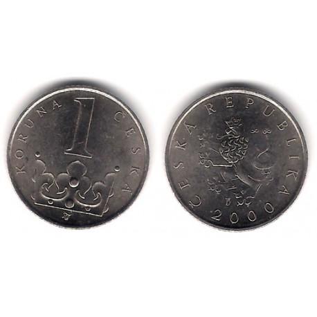 (7) República Checa. 2000. 1 Korun (EBC)