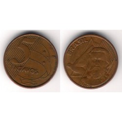 (648) Brasil. 2002. 5 Centavos (BC)