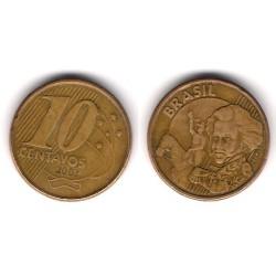 (649.2) Brasil. 2002. 10 Centavos (BC)