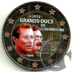 Luxemburgo. 2012. 2 Euro (SC) Coloreada