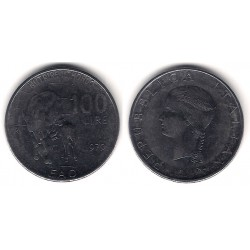 (106) Italia. 1979(R). 100 Lira (EBC)