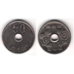 (Y81) Japón. 1974. 50 Yen (MBC)