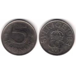 (853) Suecia. 1983. 5 Kronor (MBC-)