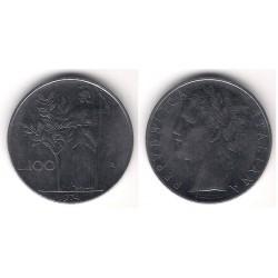 (96.1) Italia. 1974(R). 100 Lira (MBC)