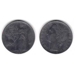 (96.1) Italia. 1957(R). 100 Lira (MBC)