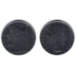 (96.1) Italia. 1984(R). 100 Lira (EBC+)