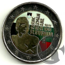 Eslovenia. 2011. 2 Euro (SC) Coloreada