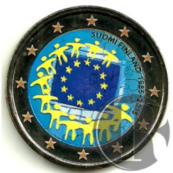 Finlandia. 2015. 2 Euro (SC) Coloreada