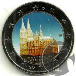 Alemania. 2011(A). 2 Euro (SC) Coloreada