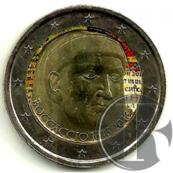 Italia. 2013. 2 Euro (SC) Coloreada