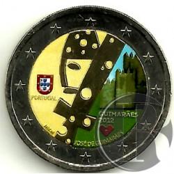 Portugal. 2012. 2 Euro (SC) Coloreada