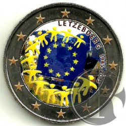 Luxemburgo. 2015. 2 Euro (SC) Coloreada
