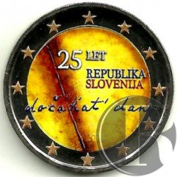 Eslovenia. 2016. 2 Euro (SC) Coloreada