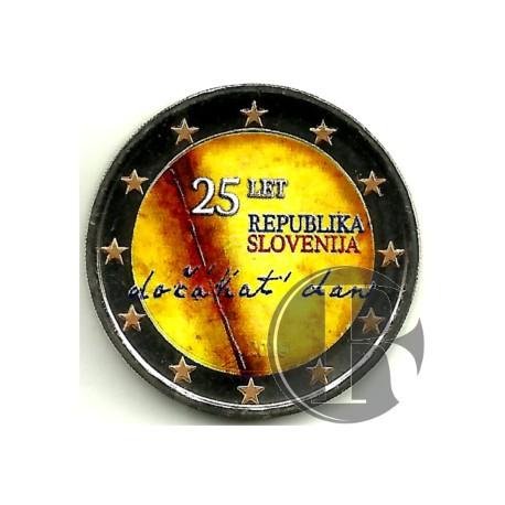Eslovenia. 2016. 2 Euro (SC) Coloreada