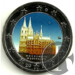 Alemania. 2011(G). 2 Euro (SC) Coloreada
