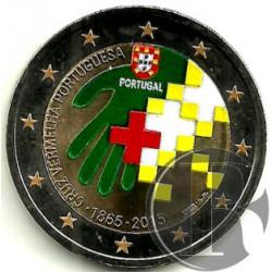 Portugal. 2015. 2 Euro (SC) Coloreada