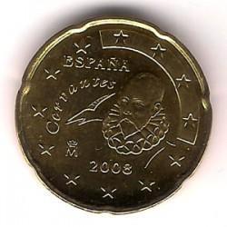 España. 2008. 20 Céntimos (SC)