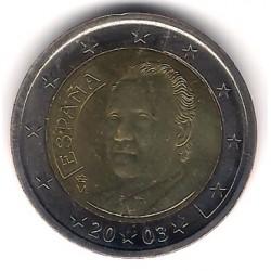 España. 2003. 2 Euro (SC)