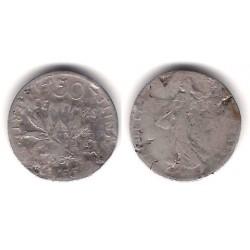 (854) Francia. 1901. 50 Centimes (RC) (Plata)