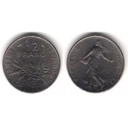 (931.1) Francia. 1970. ½ Franc (MBC)