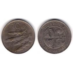 (29a.1) Islandia. 1984. 10 Kronur (MBC-)