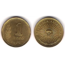 (69) Argentinaa. 1975. 1 Peso (SC)
