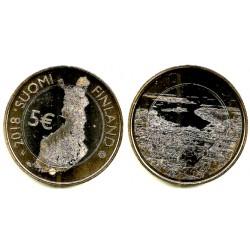 Finlandia. 2018. 5 Euro (SC)